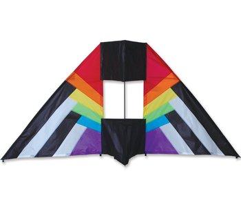 5.5 ft Box Delta Rainbow Spectrum Kite