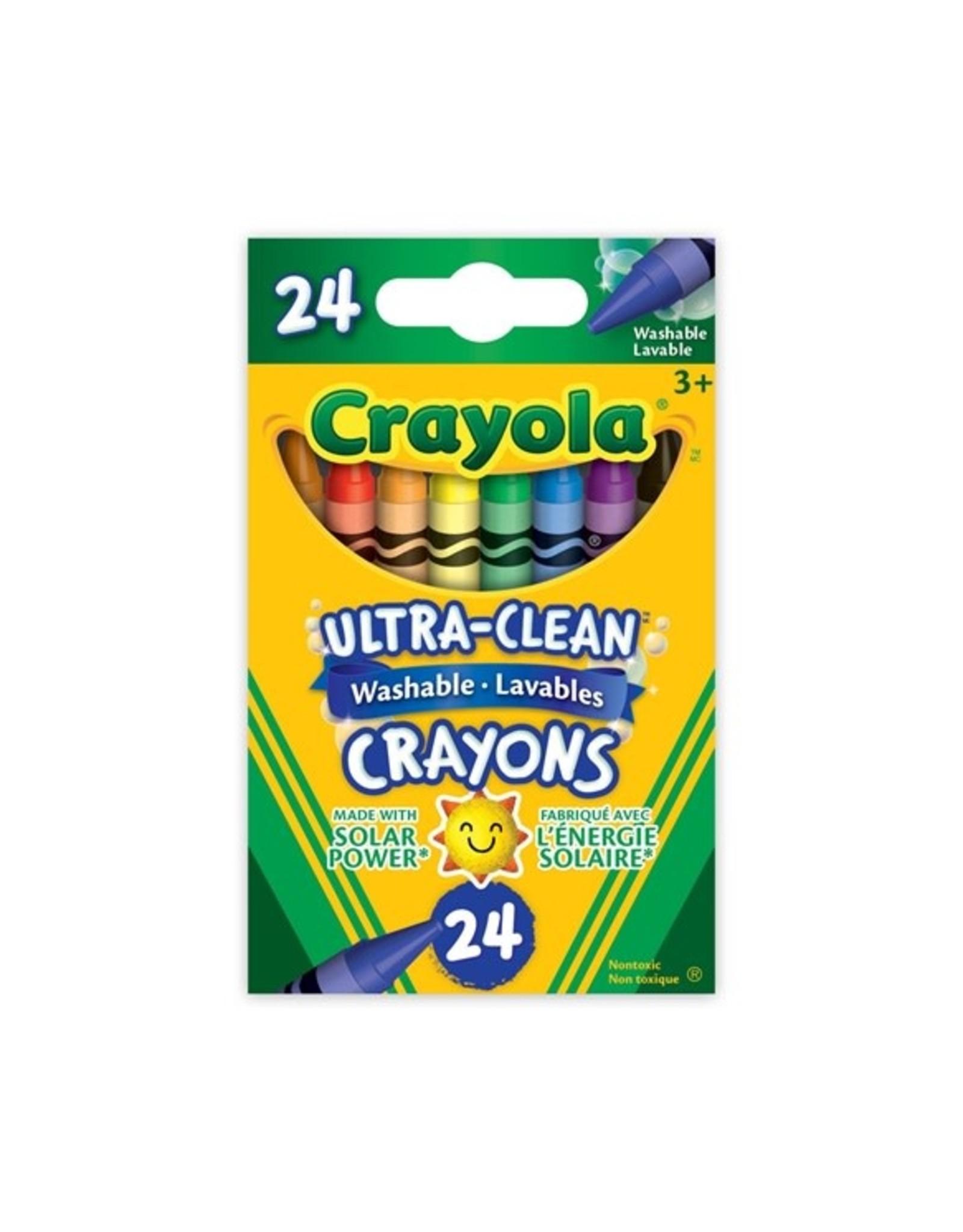 Crayola Ultra Clean Washable Crayons 24pc