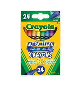 Crayola Ultra Clean Washable Crayons 24pc
