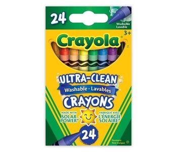 Ultra Clean Washable Crayons 24pc