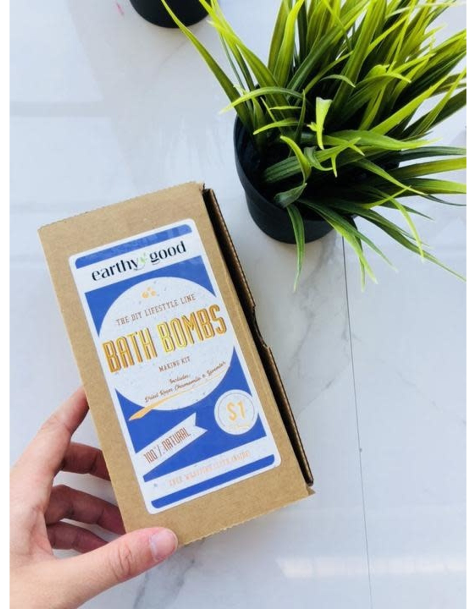 KISS NATURALS earthy good DIY Bath Bomb Kit