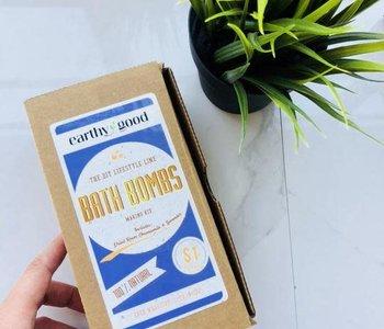 earthy good DIY Bath Bomb Kit