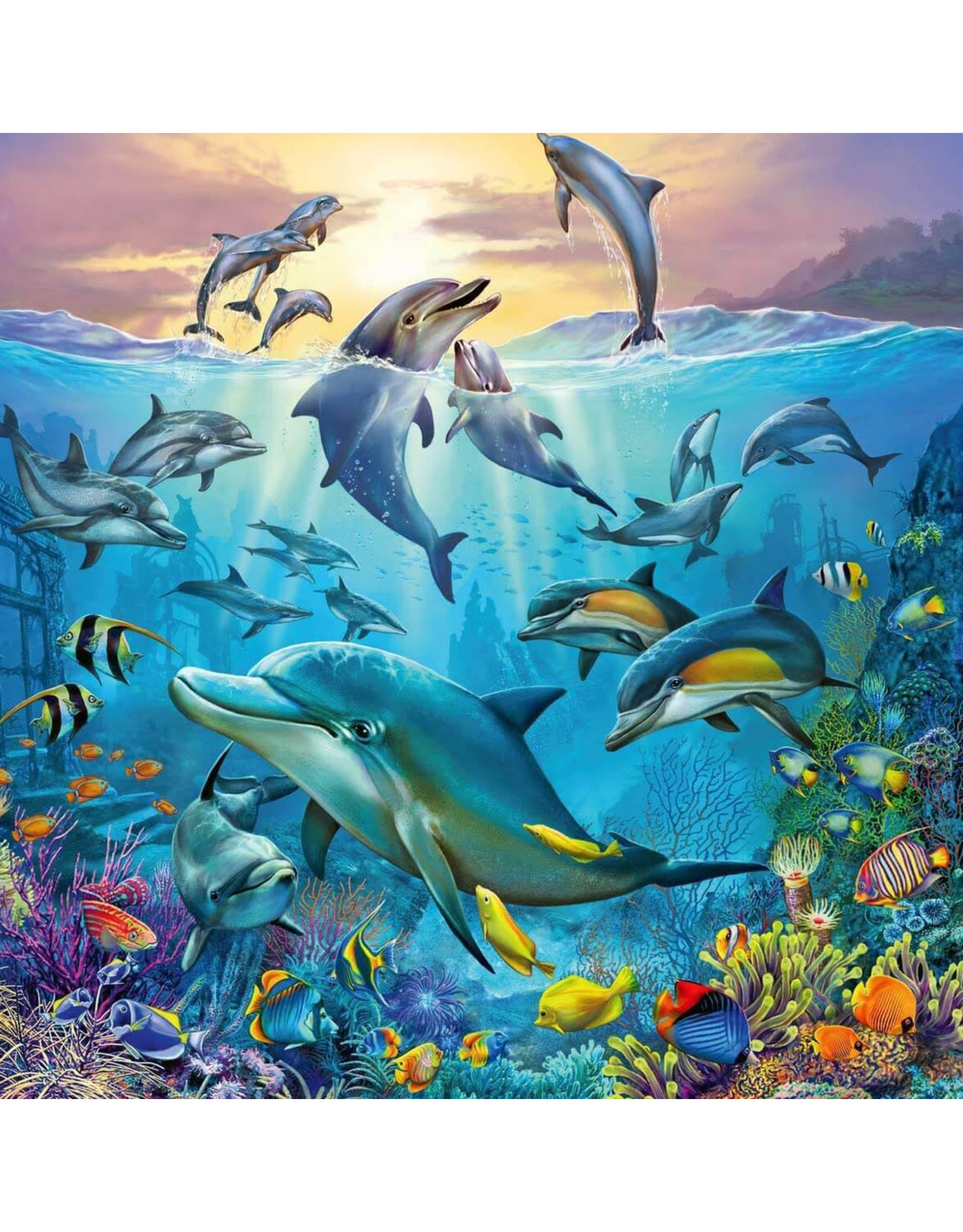 Ravensburger Ocean Life Puzzle 3x49pc Puzzles