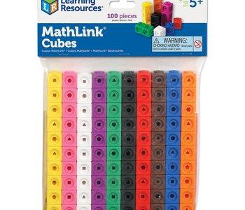 Math Link Cubes 100pc