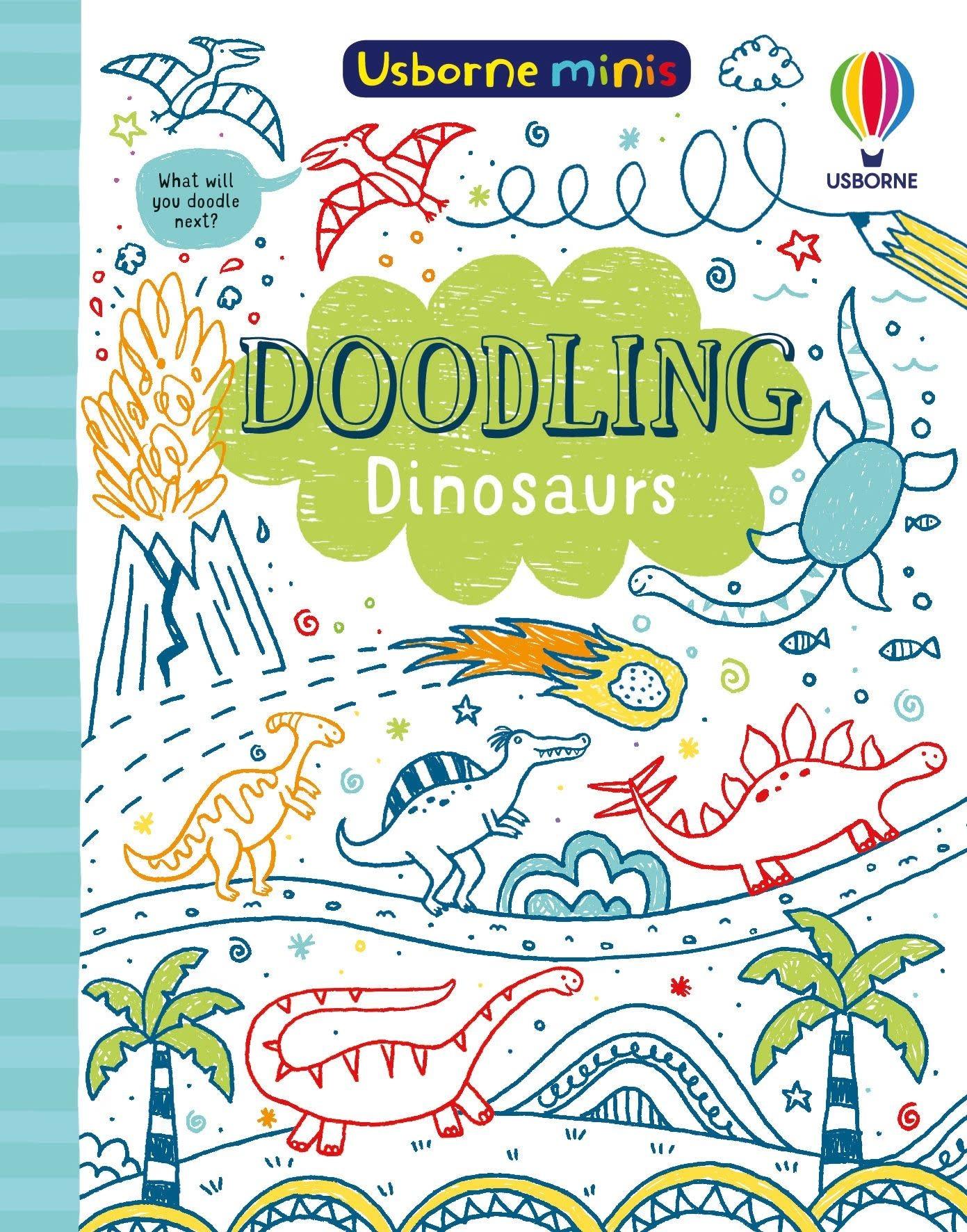 Mini Books: Doodling Dinosaurs