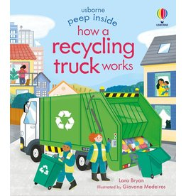 Usborne Peep Inside How a Recycling Truck Works