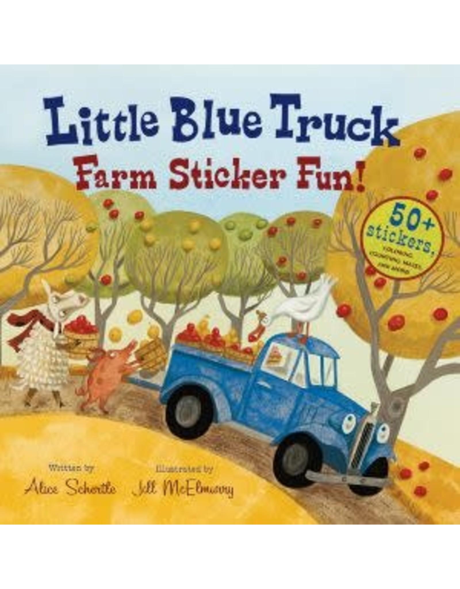 Houghton Mifflin Harcourt Little Blue Truck Sticker Fun!