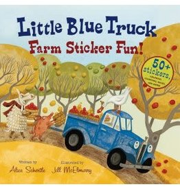 Houghton Mifflin Harcourt Little Blue Truck Sticker Fun!