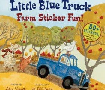 Little Blue Truck Sticker Fun!