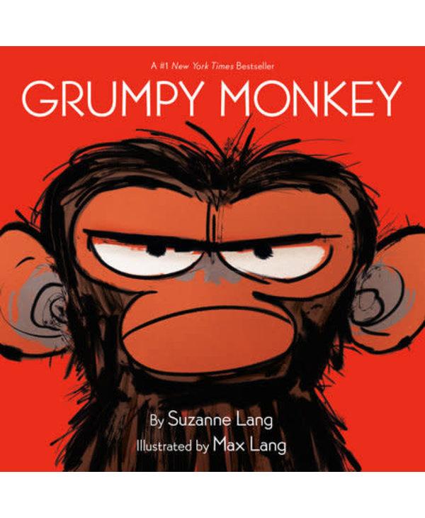 Grumpy Monkey Board Book