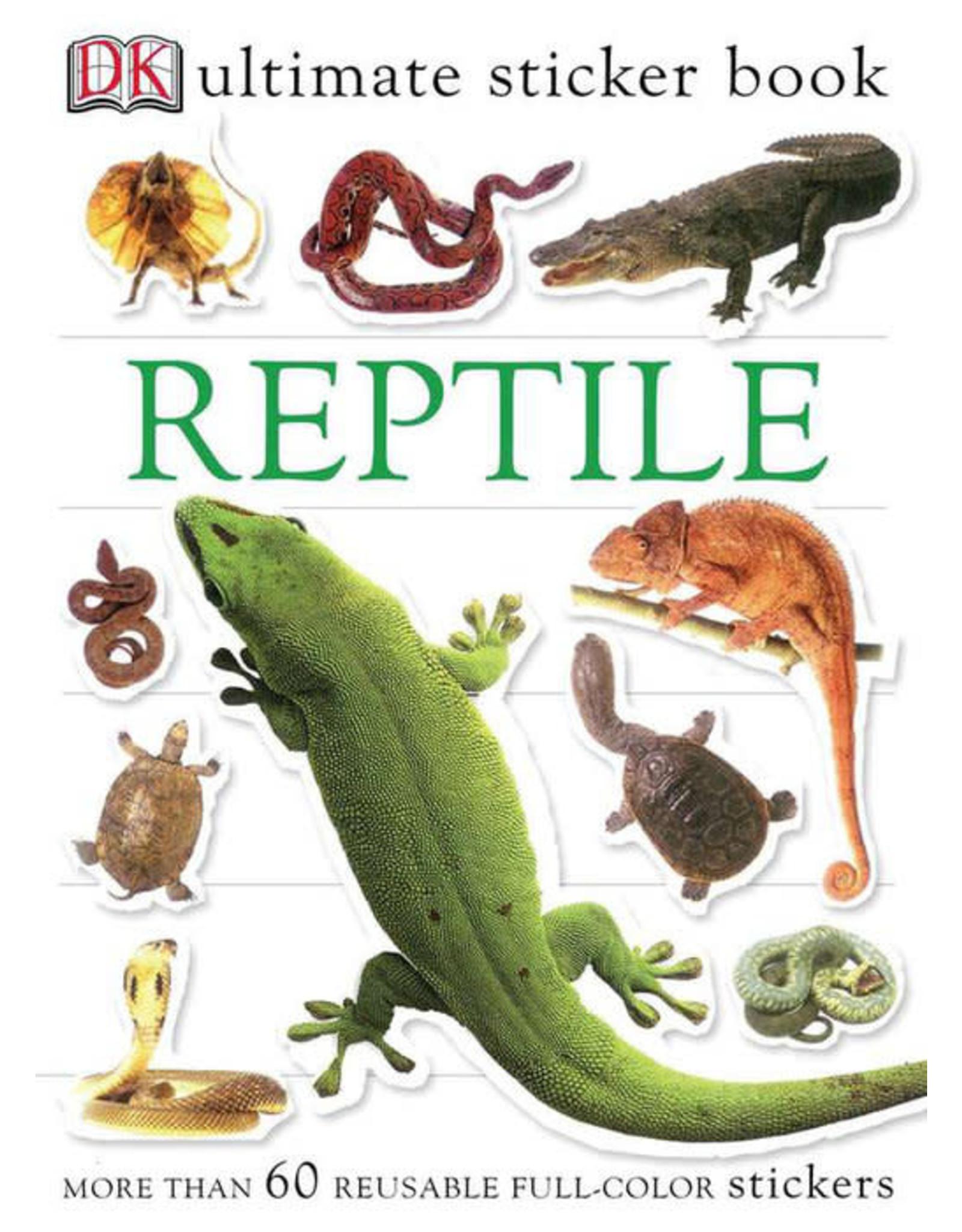 DK Reptile Ultimate Sticker Book