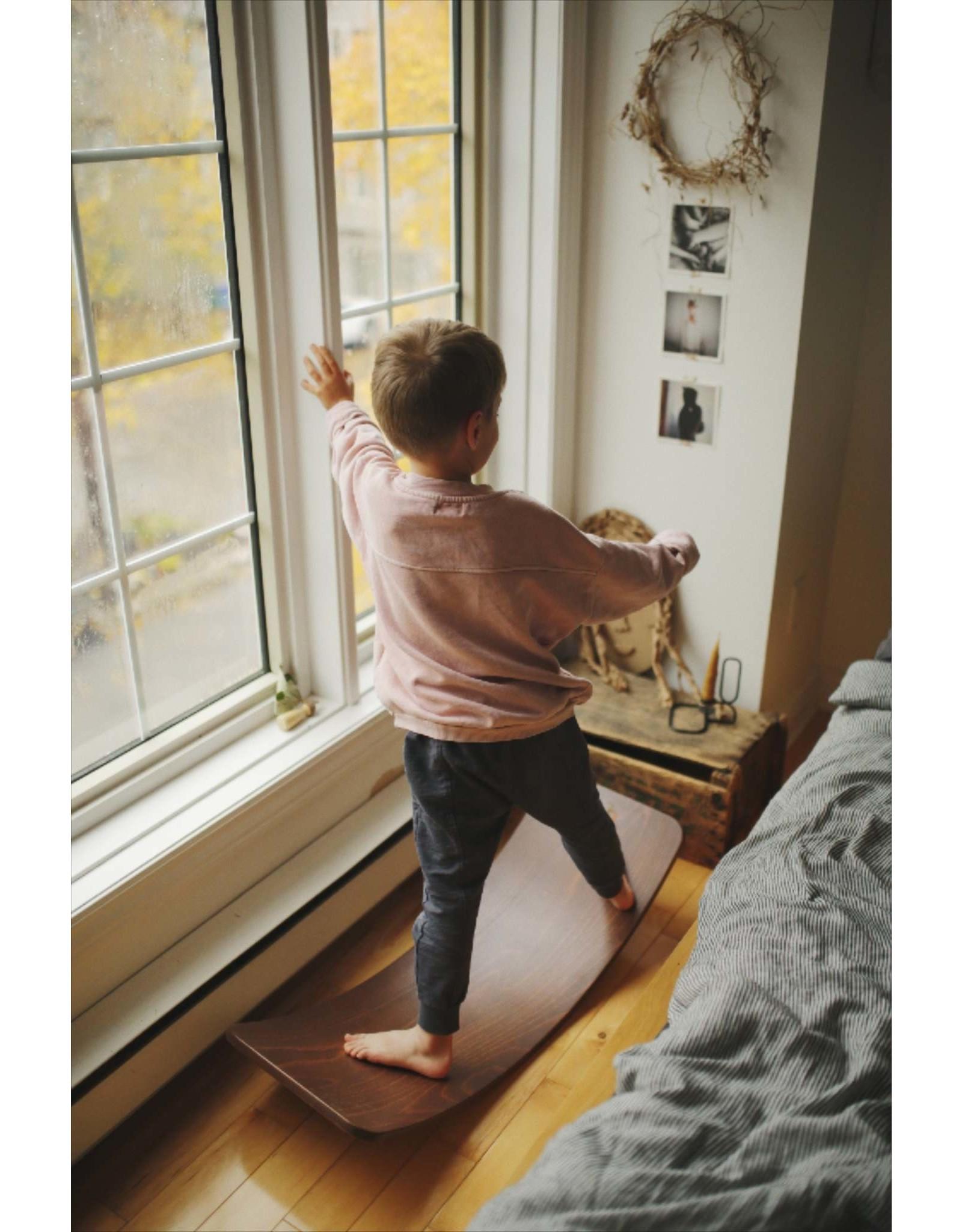 Kinderfeets Kinderfeets Kinderboard walnut wash