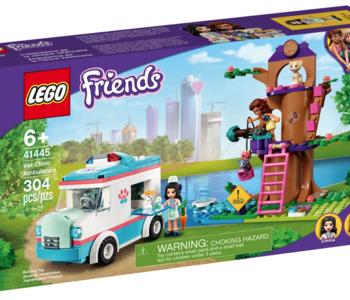 LEGO® Friends Vet Clinic Ambulance