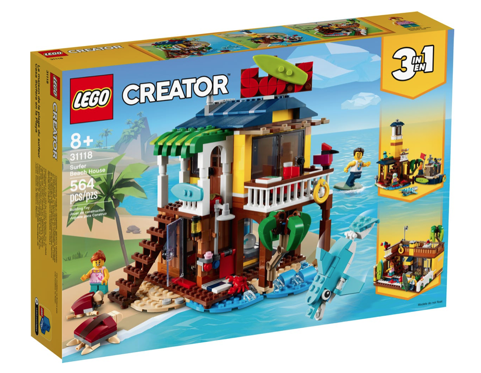 LEGO® Creator 3in1 Surfer Beach House