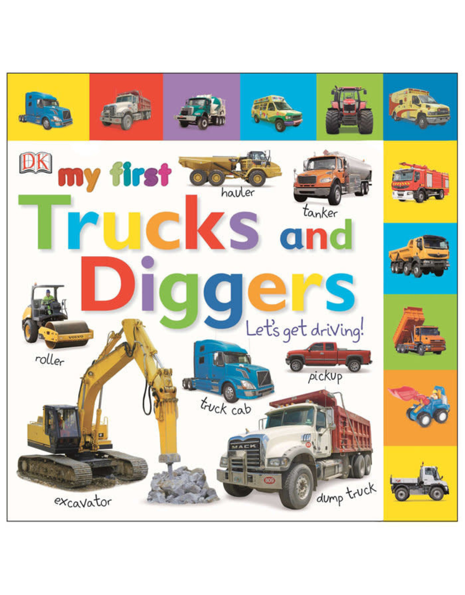 DK Tabbed Board Books: My First Trucks and Diggers