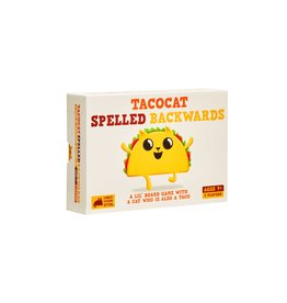 Exploding Kittens TACOCAT Spelled Backwards Game