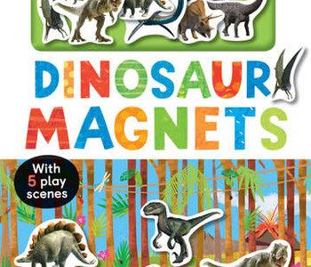 Dinosaur Magnets w 5 Play Scenes