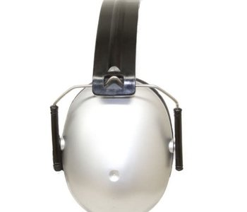 Banz Earmuffs Silver 2-10yrs