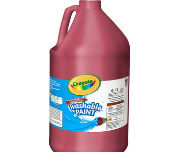 Crayola Washable Paint 3.79L Red