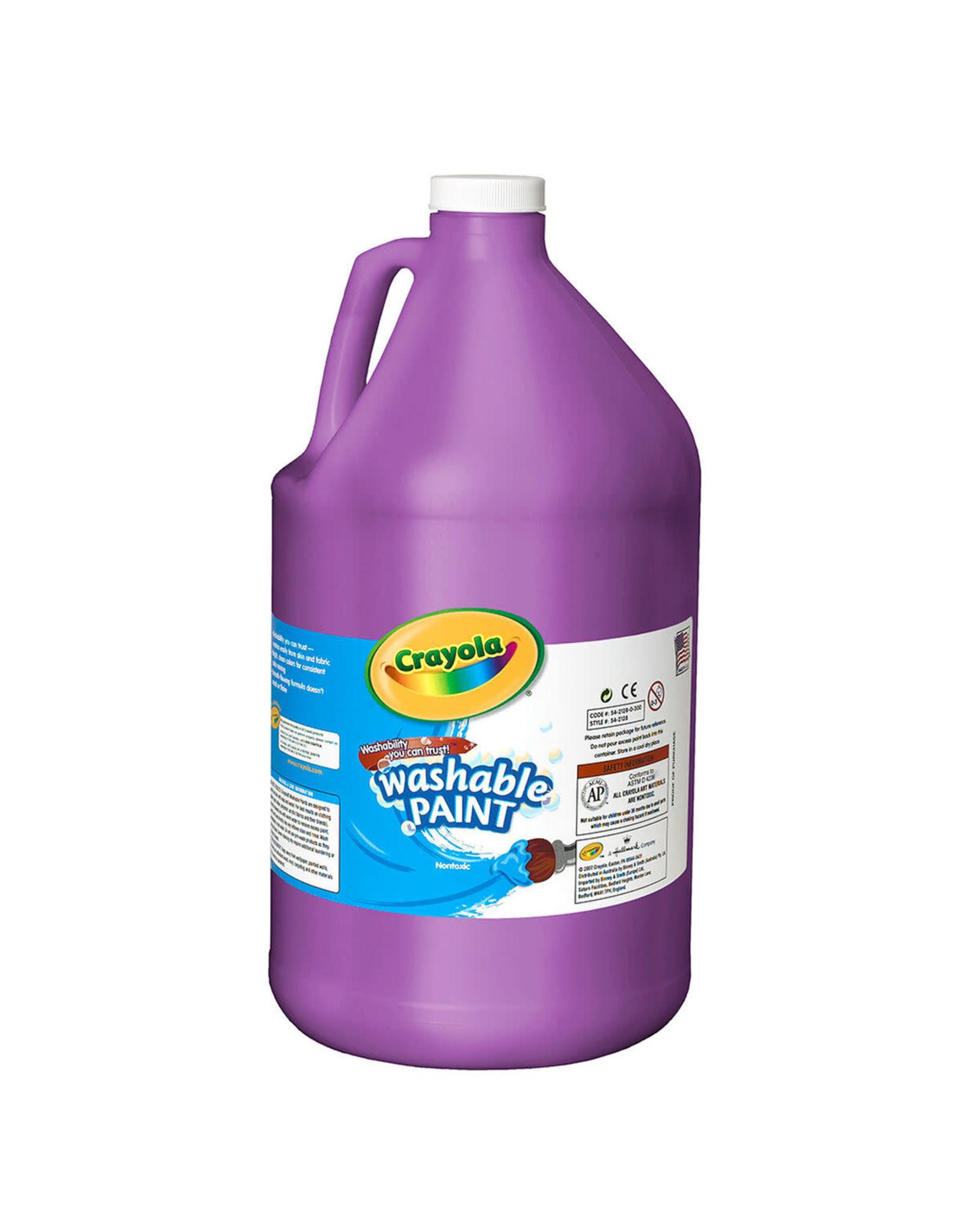 Crayola Crayola Washable Paint 3.79L Violet