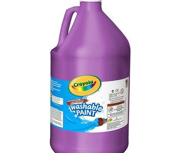 Crayola Washable Paint 3.79L Violet