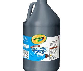 Crayola Washable Paint 3.79L Black