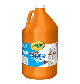 Crayola Crayola Washable Paint 3.79L Orange