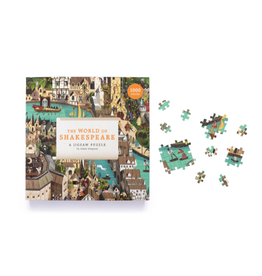 Laurence King The World of Shakespeare 1000pc Puzzle