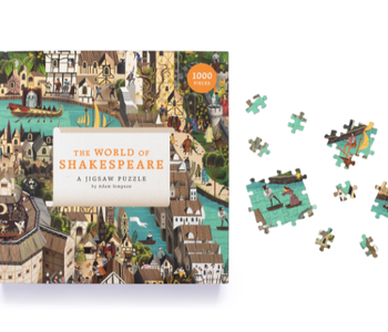 The World of Shakespeare 1000pc Puzzle