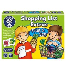 ORCHARD TOYS Shopping List Extras Fruits & Veg Expansion