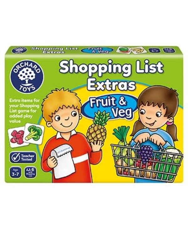 Shopping List Extras Fruits & Veg Expansion