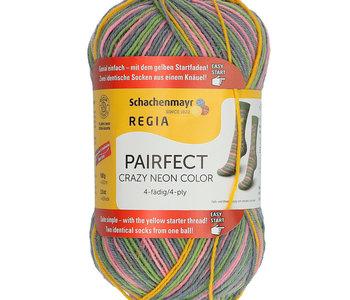 Regia Pairfect 4 ply Crazy Neon/Grey