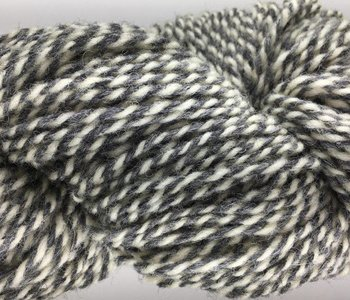Briggs&Little Heritage 2 ply-Threaded Grey and White