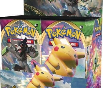 POKEMON Voltage Booster Trading Card