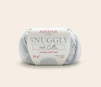 Sirdar Snuggly 100% Cotton - Light Grey/757