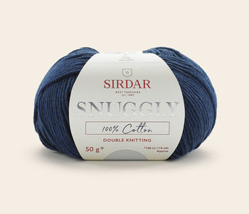 Sirdar Snuggly 100% Cotton DK- Navy/758