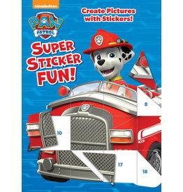 Golden Paw Patrol Super Sticker Fun!