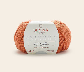 Sirdar Snuggly 100% Cotton - Orange/753