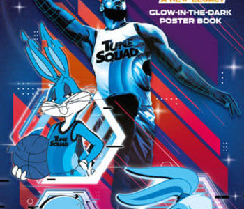 Space Jam: A New Legacy: Glow-in-the-Dark Poster Book