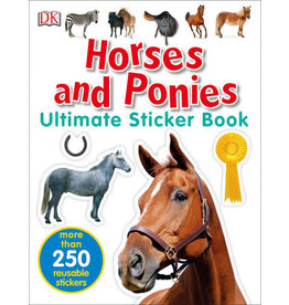 DK DK Ultimate Sticker Book: Horses and Ponies