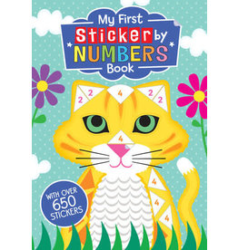 Price Stern Sloan My First Sticker by Numbers Book