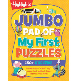 Highlights Jumbo Pad of My First Puzzles