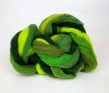 Mini Mills Roving - Greens