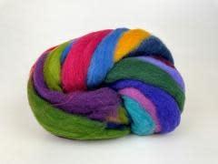 Mini Mills Roving - Dark Rainbow