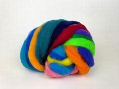 Mini Mills Roving - Bright Rainbow