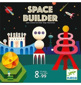 Djeco Space Builder Strategy Game