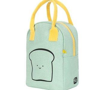 Happy Bread Mint Zipper Lunch Bag