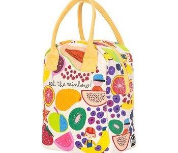 Eat The Rainbow Zipper Lunch Bag