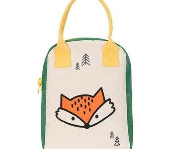 Fox Zipper Lunch Bag