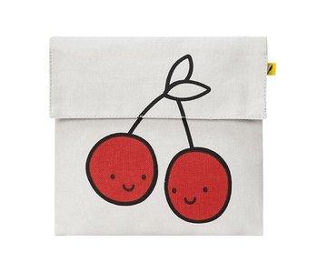 Flip Snack Sack red cherries
